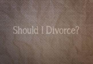 should i divorce