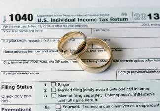 my ex and my tax return