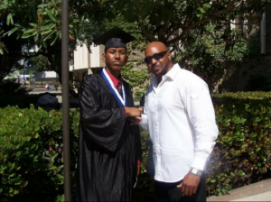 Marquis and Patrick on Graduation Day
