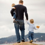 single father raising children