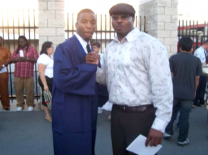 Bryan and Patrick on Graduation Day