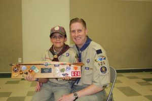 Figure 5: Gus & Dad. T.J. is an Eagle Scout
