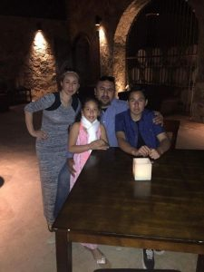 Joe Vargas on family vacation with wife Lorena, son Cisco, and daughter Joanna