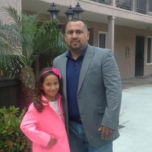 Joe with daughter Joanna
