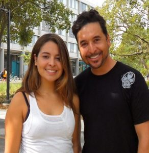 RJ & Daughter at UC Davis