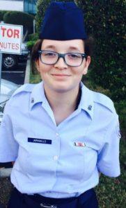 RJ's Daughter Air Force ROTC