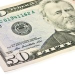 money, 50 dollar bill