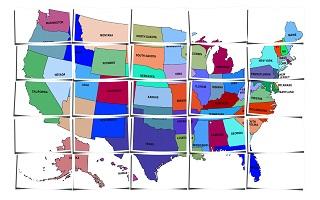 divorce, san diego divorce, san diego child custody lawyer, child custody, states, us map